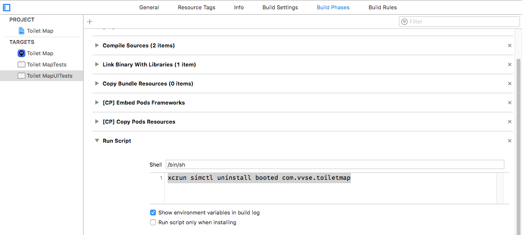 Tips for using Xcode's UI testing solution XCUITest - VVSE-Blog