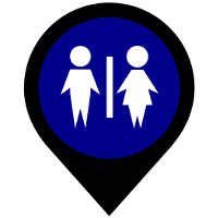 Toilet Map Icon